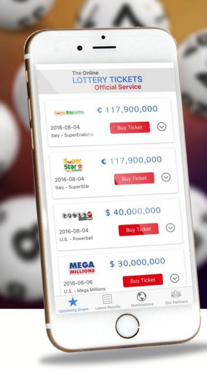 Lottery Results - Winning Ticket Push Alerts Free! by Yuvraj
