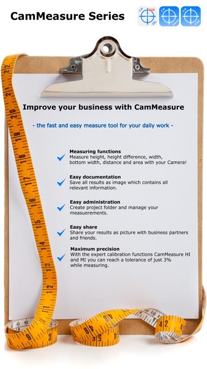 CamMeasure Lite Measure height width distance area screenshot-4