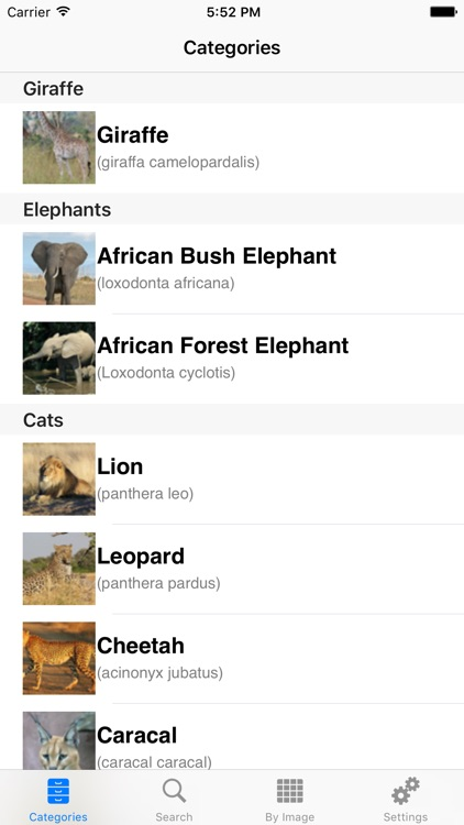 African-Safari Wildlife Guide screenshot-1