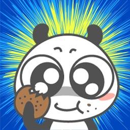Panda Cute Stickers