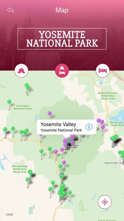 Yosemite National Park Tourist Guide screenshot-3
