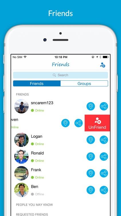 Find Friends - Where are you? screenshot-3