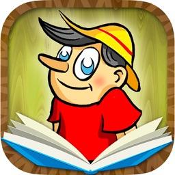 Pinocchio classic tale - Interactive book