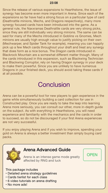 Hearth Guide - tips & tricks for Hearthstone screenshot-4