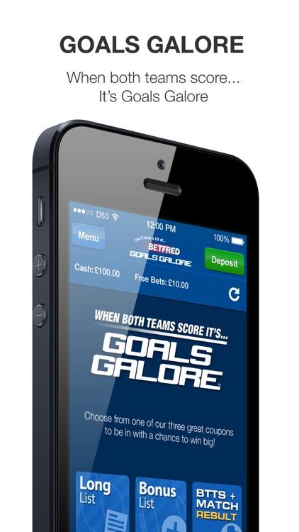 Goals Galore