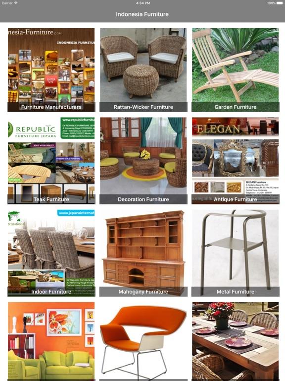 Indonesia Furnitures iPad