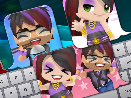 Screenshot #3 for 3D Avatar Creator - BuddyPoke Emoji and Pictures