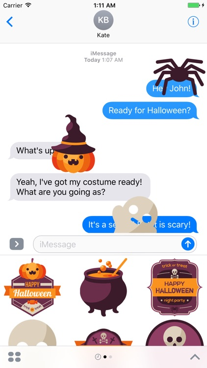 Spooki - Halloween Stickers screenshot-0