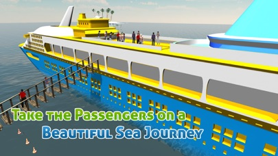 Cruise Ship Simulator 3D – Sail mega boat on sea to pick &