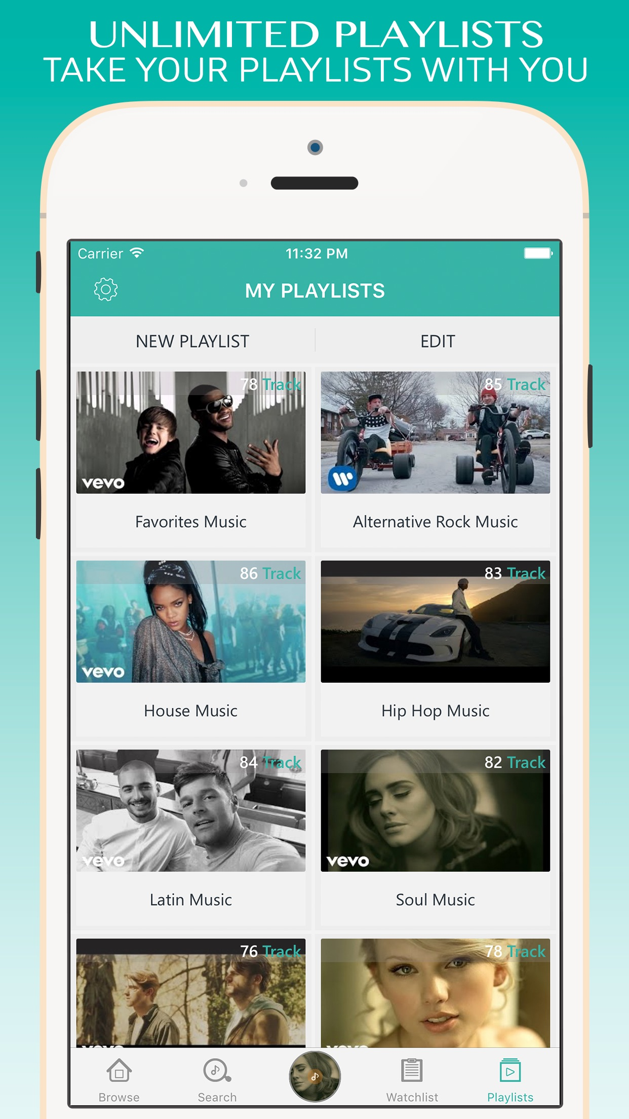 Turbodl - HD Video Music Player & Playlist Manager Screenshot