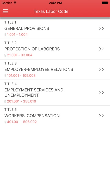 Texas Labor Code 2017 screenshot-0