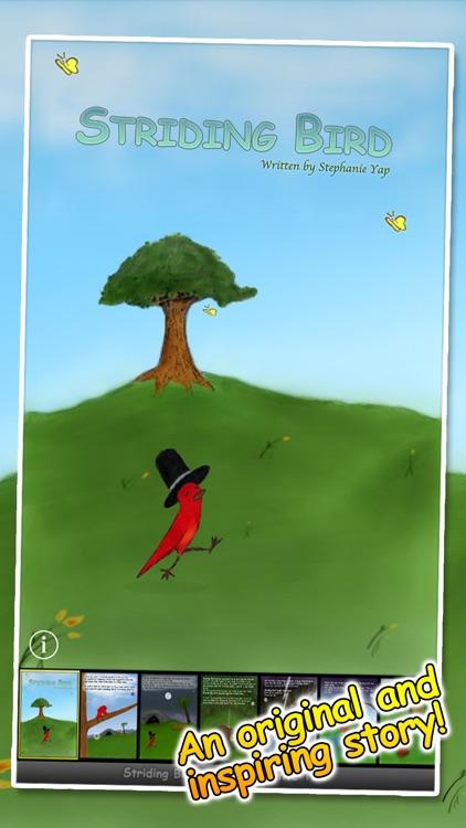 Striding Bird - An inspirational tale for kids screenshot-0