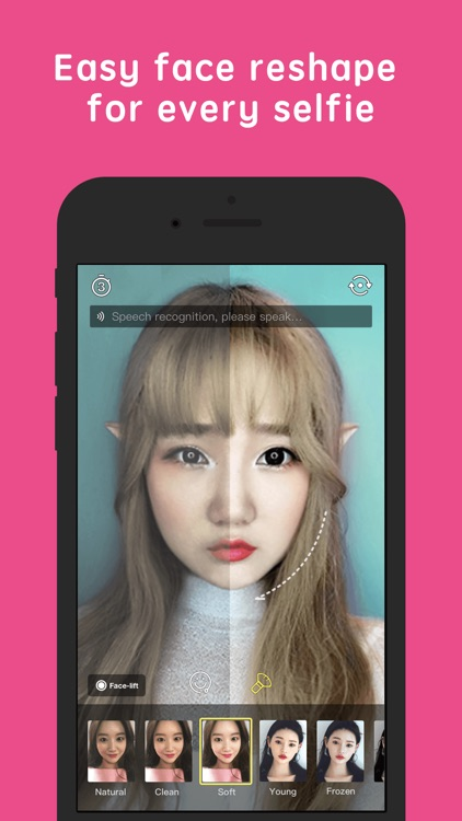 FunCam - Selfie camera, Speech to Fun filters