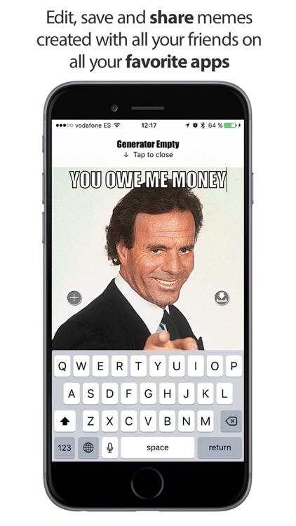 Meme Generator: Generator Memes, Images & Pictures screenshot-3