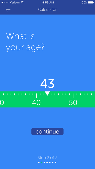 Visa's Tooth Fairy Calculator screenshot three