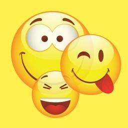 New Emojis & Smileys animated text icons emoticons