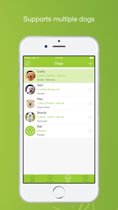 Dog Buddy Pro review screenshots