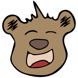 Kodi Bear Stickers