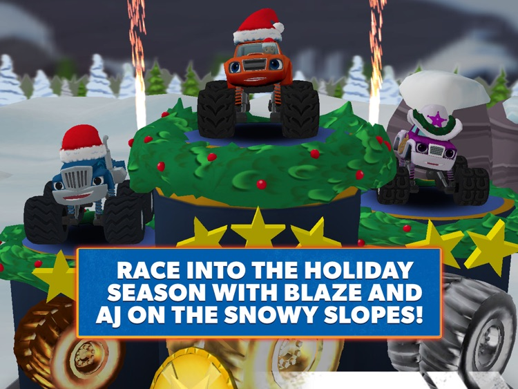 Blaze and the Monster Machines - Racing Game HD screenshot-0