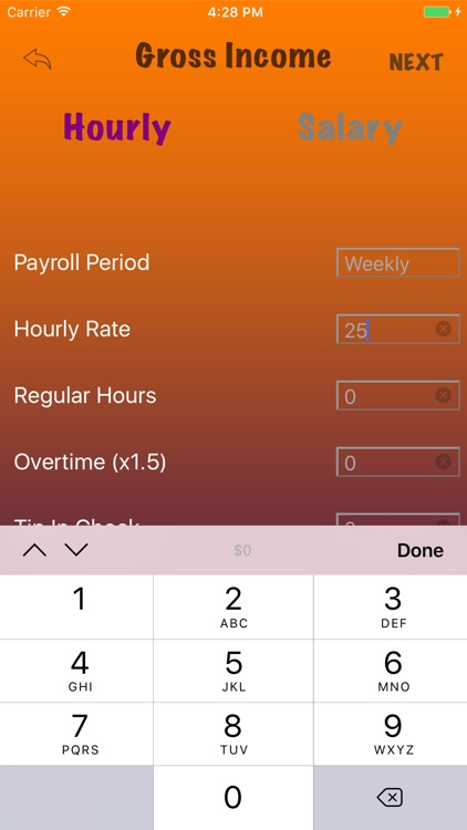 Quick Paycheck screenshot-1