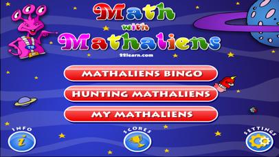 Basic Math with Mathaliens for Kids screenshot 5