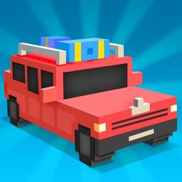 Blocky Risky Drive: City Highway & Parking HD