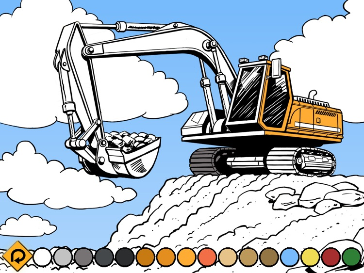 Kids Vehicles: Construction HD for the iPad
