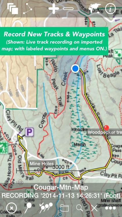 Maps n Trax - Offline Maps, GPS Tracks & Waypoints screenshot-3