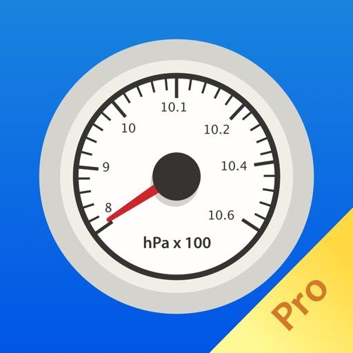 Easy Barometer Pro- Measure air pressure easily