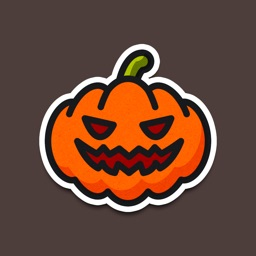 Funny Halloween Stickers