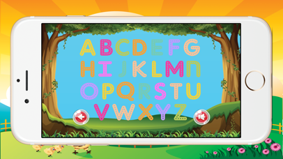 ABCD Alphabet Phonic Tracing Flashcards Toddlers screenshot one