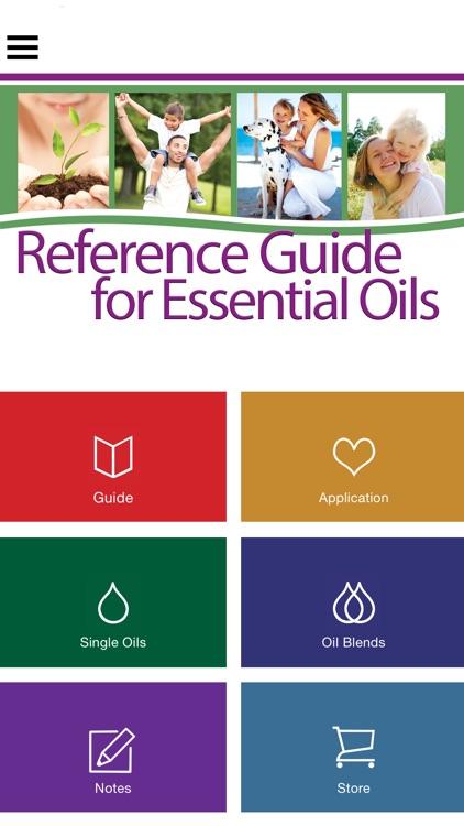 Ref Guide for Essential Oils app image
