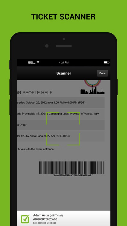 Check-In Manager for Ticketing software screenshot-4