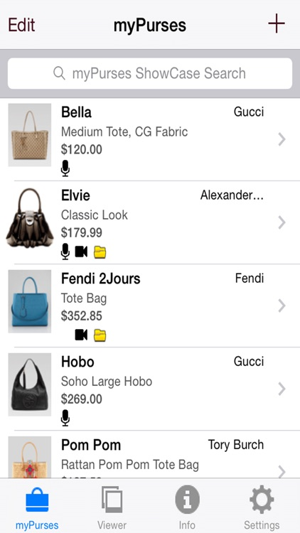 myPurses screenshot-1