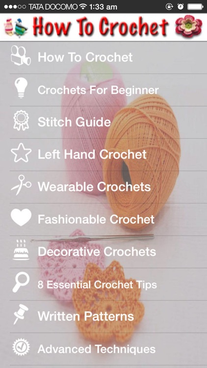 How To Crochet Step By Step screenshot-0
