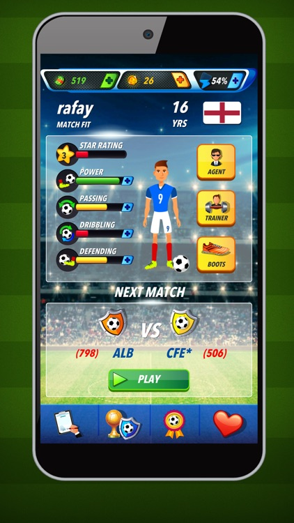 Football Super Star - Sports RPG