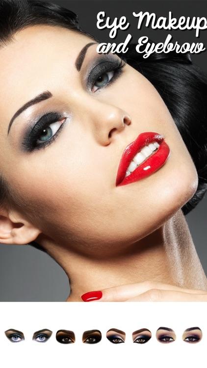 Eye Makeup and Eyebrows Editor