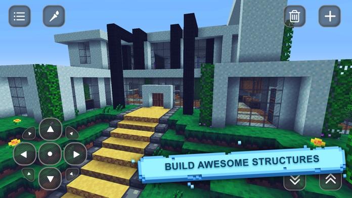 Cube World Craft: Build, Mine, Exploration - Lite Screenshot