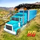 Ville Camion de Transports stationnement folie 3D icon