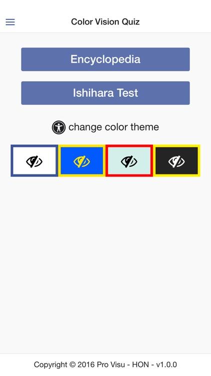 Color Vision Quiz