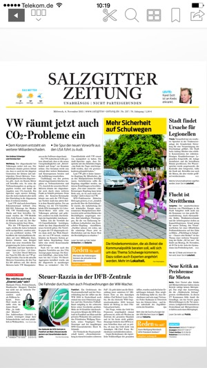 salzgitter zeitung epaper im app store. Black Bedroom Furniture Sets. Home Design Ideas