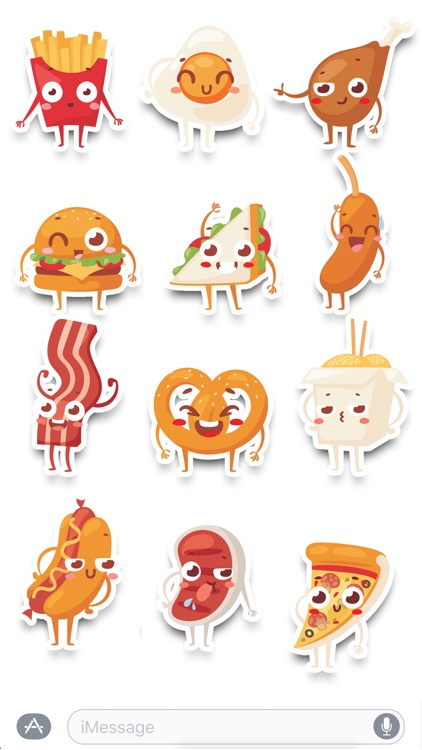 Foods - Sticker Pack