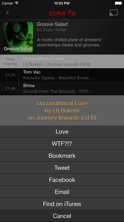 SomaFM Radio Player screenshot-3
