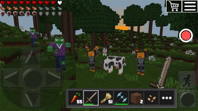 World Of Cubes Survival Craft Im App Store - Minecraft online spielen ab welchem alter