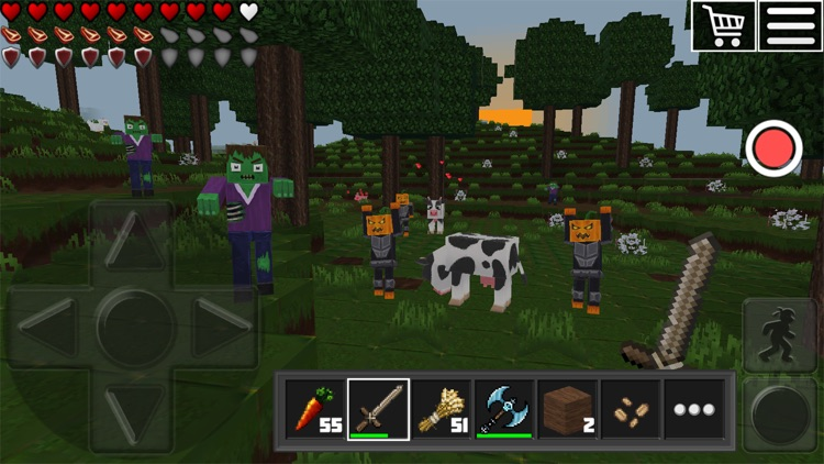 World of Cubes Survival Craft screenshot-3