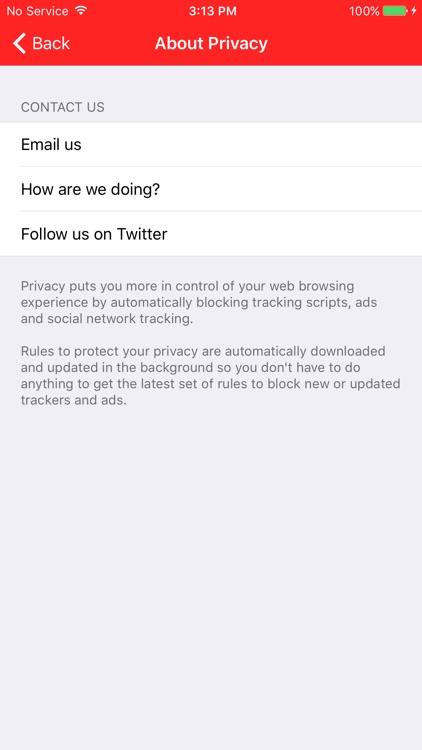 Privacy Content Blocker screenshot-4