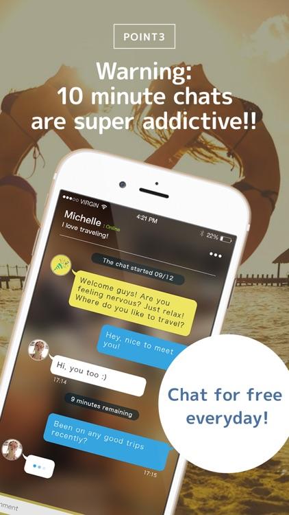 Festar - 10 min Chat & Dating - Meet New Friends screenshot-3