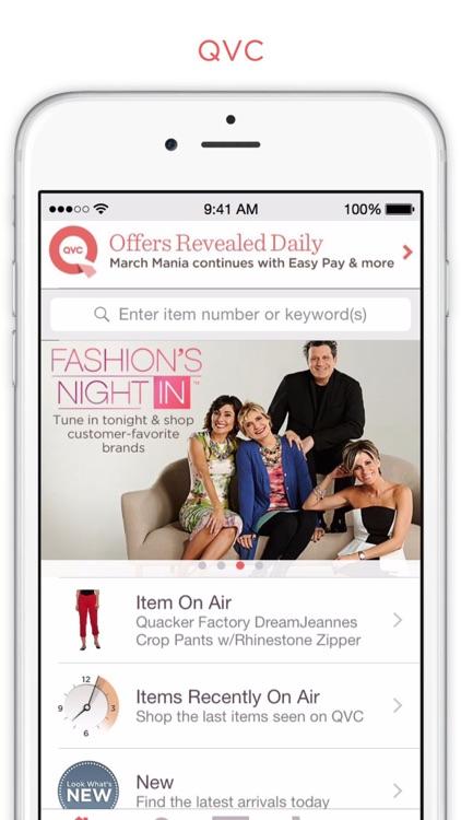 QVC for iPhone screenshot-0