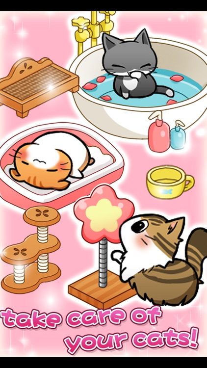 Cat Room - Cute Cat Games screenshot-2
