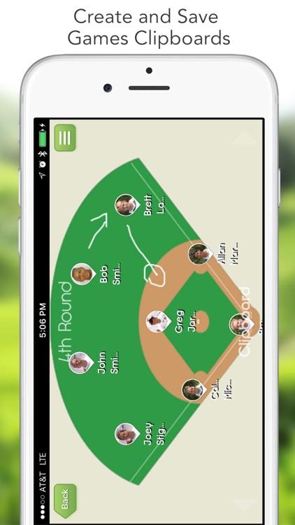iGrade for Baseball Coach (Scoring, Lineup, Notes) screenshot-0